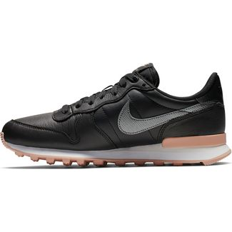 Nike Internationalist PRM Sneaker Damen black-mtlc bomber grey-bio beige