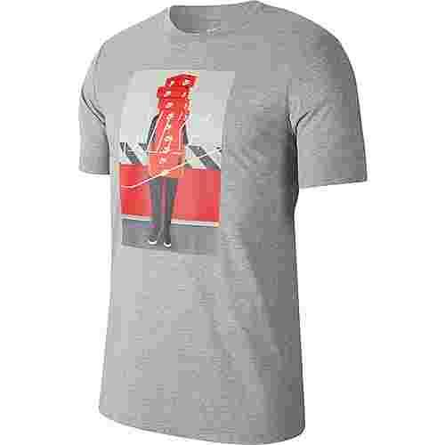 Nike NSW T-Shirt Herren dark grey heather