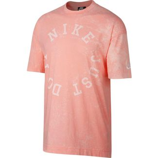 Nike NSW T-Shirt Herren bleached coral-summit white