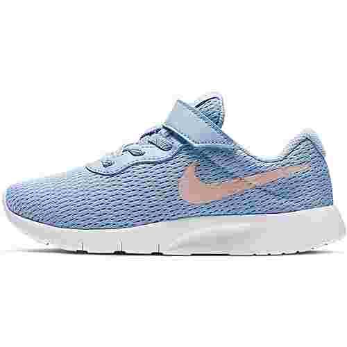 Nike Tanjun Sneaker Kinder psychic blue-bleached coral