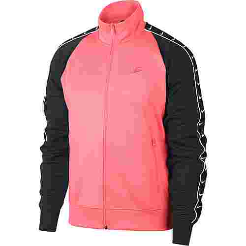 Nike NSW Polyjacke Herren pink gaze-black-white