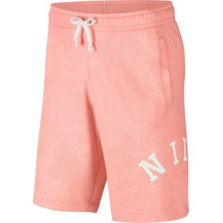 Nike NSW Shorts Herren bleached coral-summit white
