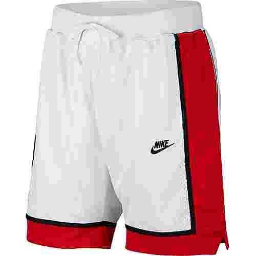 Nike NSW Shorts Herren white-university red-black