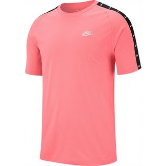 Nike NSW T-Shirt Herren pink gaze-white