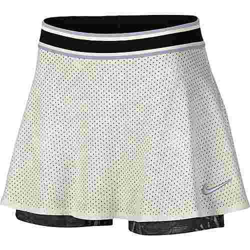 Nike W NKCT SKIRT ESS PR Tennisrock Damen sail-oxygen purple