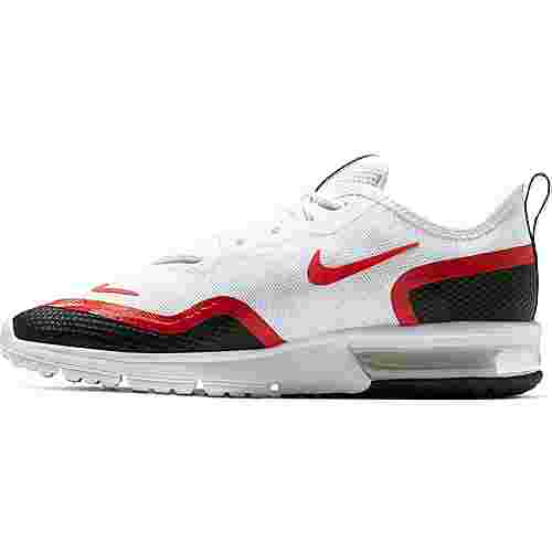 Nike Air Max Sequent 4.5 Sneaker Herren white-university red-black