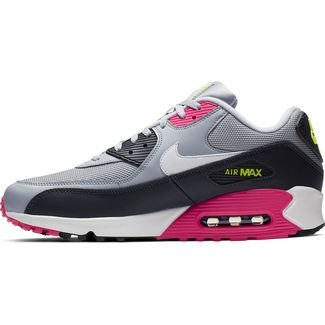 Nike Air Max 90 Essential Sneaker Herren wolf grey-white-rush pink