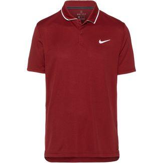 Nike M NKCT DRY TEAM Poloshirt Herren team crimson-white-white