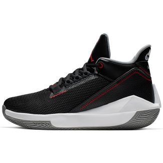 best service b194d 741aa Nike Jordan 2X3 Basketballschuhe Herren black-gym red-particle grey