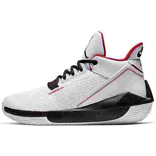 Nike Jordan 2X3 Basketballschuhe Herren white-black-gym red
