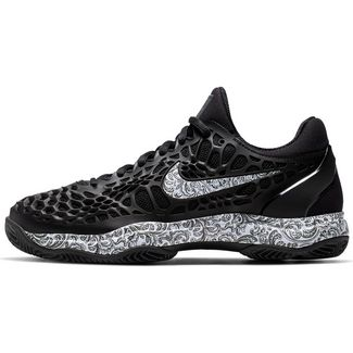Nike AIR ZOOM CAGE 3 CLY Tennisschuhe Damen black-white