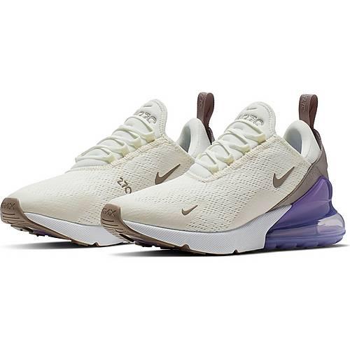 Nike Air Max 270 Sneaker Damen sail pumice space purple white im Online Shop von SportScheck kaufen