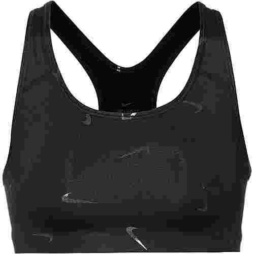 Nike Swoosh Sport-BH Damen black