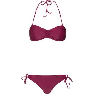 Protest Bikini Set Damen beet red