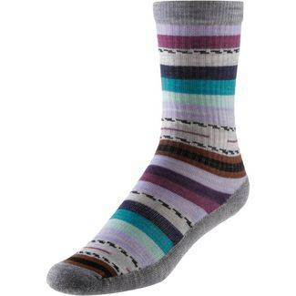 Smartwool Light Margarita Crew Wandersocken Damen light gray
