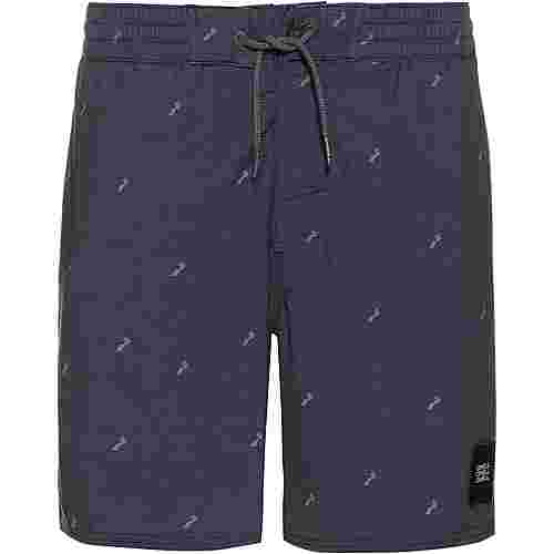 O'NEILL Strucktured Badeshorts Herren blue aop- pink or purple