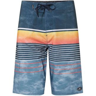 O'NEILL Hyperfreak Heist Boardshorts Herren white aop-yellow or orange