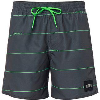 O'NEILL Contourz Badeshorts Herren grey aop-green