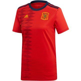 adidas Spanien Frauen WM 2019 Heim Fußballtrikot Damen red