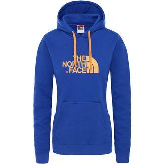 The North Face DREW PEAK Hoodie Damen lapis blue-citrine yellow