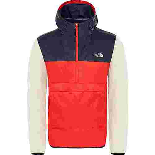 The North Face FANORAK Windbreaker Herren fiery red-urban navy-peyote beige