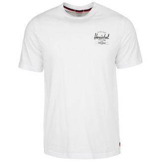 Herschel Tee T-Shirt Herren weiß 1 / schwarz