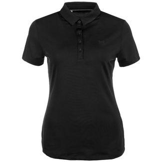 Under Armour Zinger Poloshirt Damen schwarz