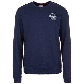 Herschel Crewneck Sweatshirt Herren dunkelblau / weiß