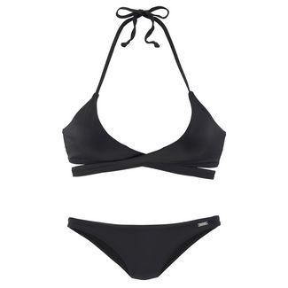 Bench Bikini Set Damen schwarz