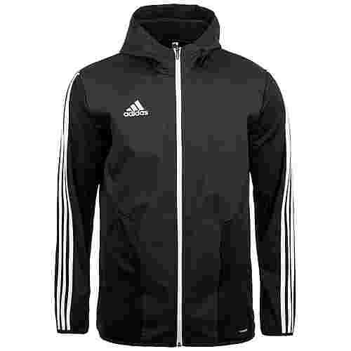 adidas Tiro 19 Warm Trainingsjacke Herren schwarz / weiß