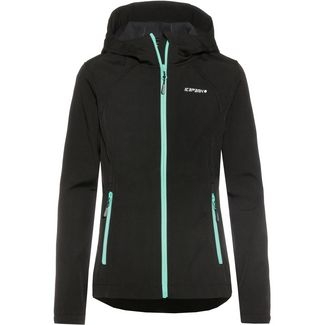 ICEPEAK TUUA JR Softshelljacke Kinder black