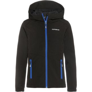 ICEPEAK Teiko JR Softshelljacke Kinder black