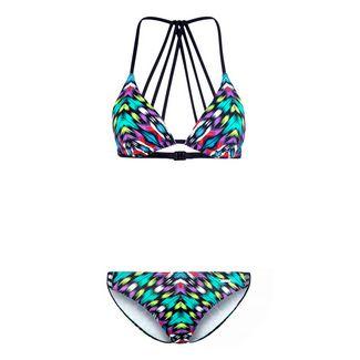 BRUNO BANANI Bikini Set Damen grün-bedruckt