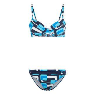 KangaROOS Bikini Set Damen marine-blau