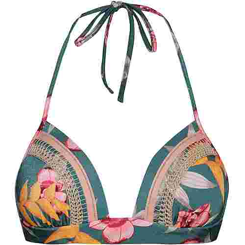 watercult Hyper Vintage Bikini Oberteil Damen jungle -tropics