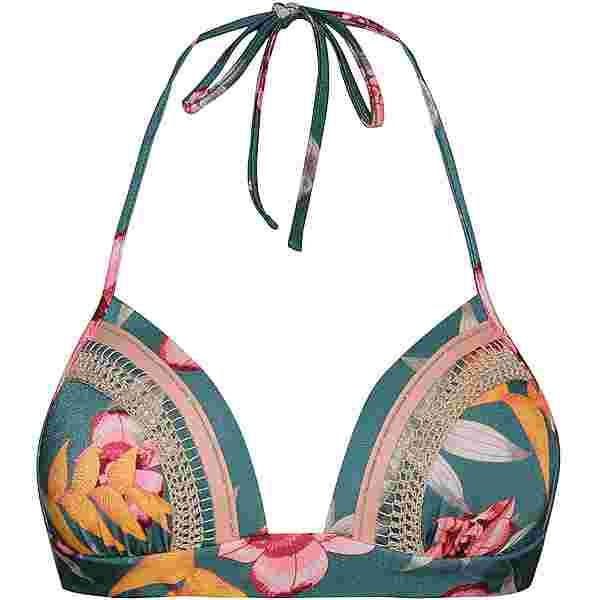 watercult Hyper Vintage Bikini Oberteil Damen jungle -tropics