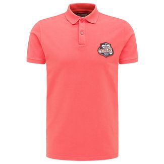Petrol Industries Poloshirt Herren Red Coral