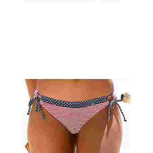 S.OLIVER Bikini Hose Damen rot-weiß-gestreift