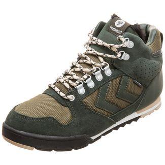 hummel Nordic Root Forest Sneaker Herren grün / braun