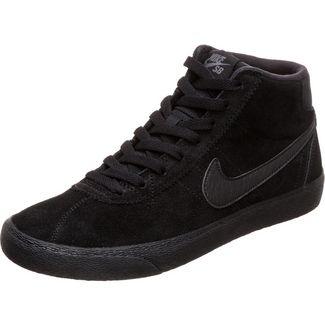 Nike Bruin High Sneaker Damen schwarz / dunkelgrau