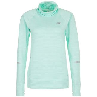 NEW BALANCE Heat Funktionssweatshirt Damen mint