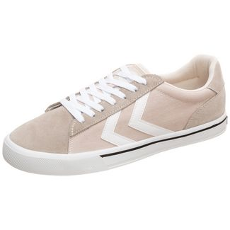 hummel Nile Canvas Low Sneaker Herren beige