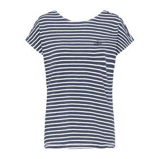 DreiMaster T-Shirt Damen weiss gestreift