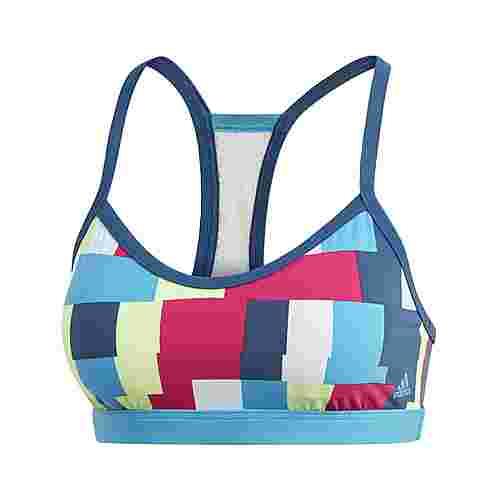 adidas All Me Bikinioberteil Bikini Oberteil Damen Multicolor / Legend Marine / Shock Cyan