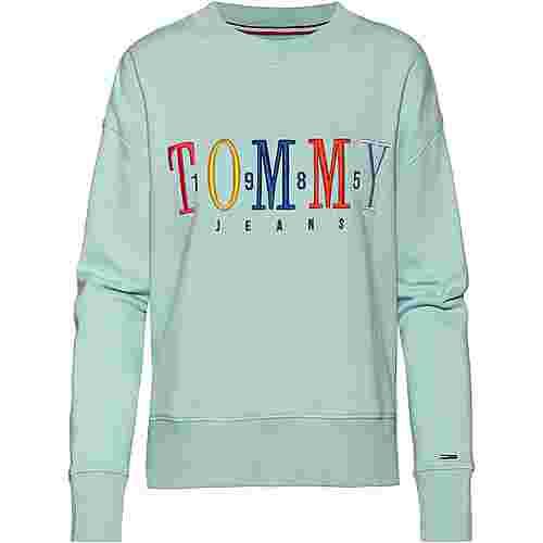 Tommy Jeans Sweatshirt Damen canal blue
