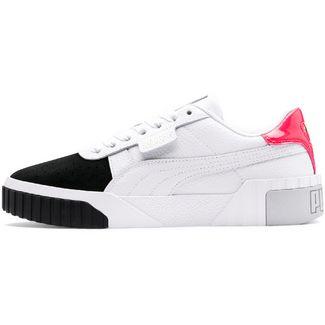 PUMA Cali Remix Sneaker Damen puma white-puma black