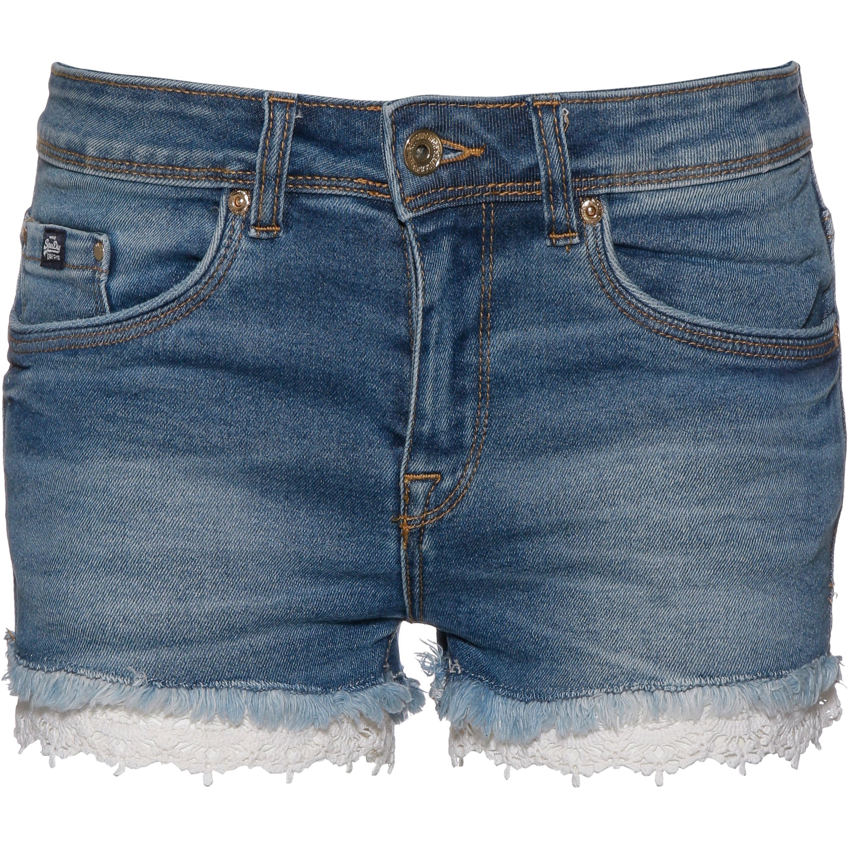 Superdry Denim Lace Hot Jeansshorts Damen
