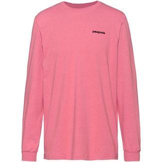 Patagonia L/S P-6 Logo Responsibili Langarmshirt Herren sticker pink