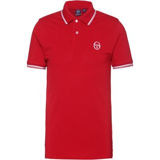 SERGIO TACCHINI Sergio 017 Poloshirt Herren apple red-white