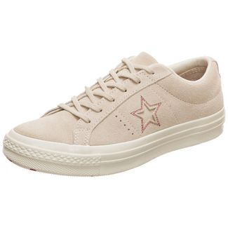 CONVERSE Cons One Star Love Metallic Sneaker Damen beige